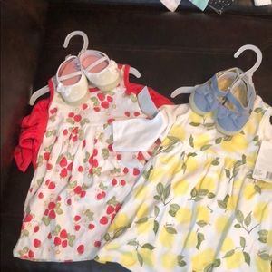 Dresses for baby girls w matching shoes